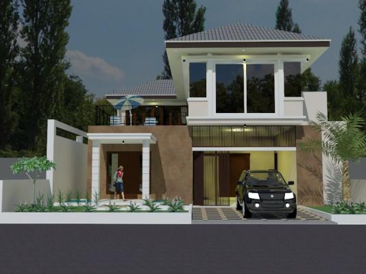 Desain Rumah Minimalis – Jl. Aceh – Bandung