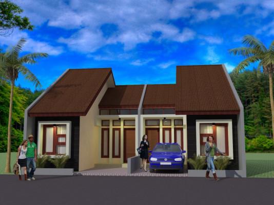 Desain Rumah Couple – Kalimantan Tengah