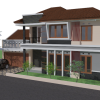 Desain Rumah Minimalis Tropis – Lembang, Bandung