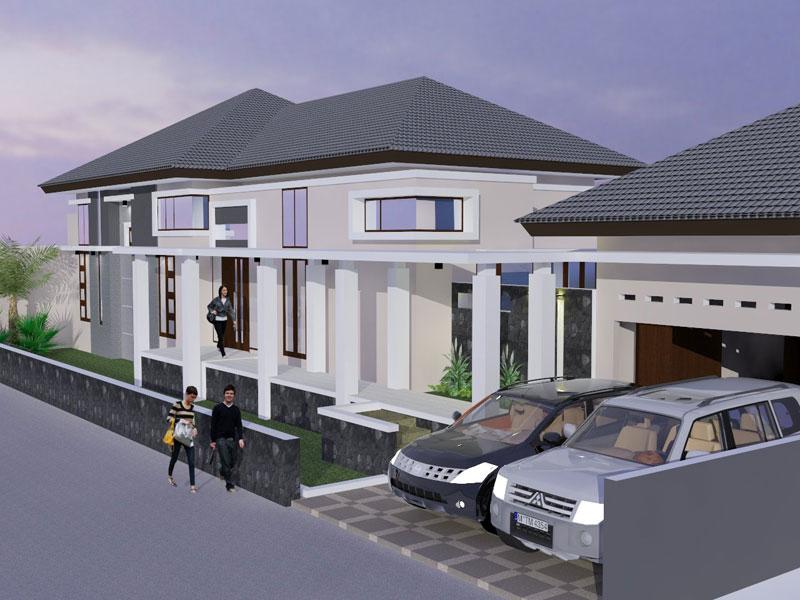 Desain Rumah Tinggal Lembang Bandung Archie  Jasa Desain Rumah Di Bandung