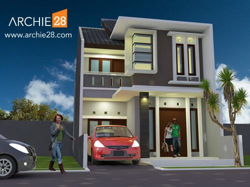 Contoh Desain Rumah Minimalis + RAB