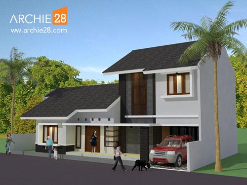 Desain Rumah Minimalis Modern by ARCHIE28